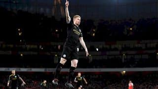 Premier League: Manchester City Rout Arsenal 3-0; Manchester United, Everton Play Out 1-1 Draw