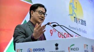 Must Ensure India is Taken Seriously at Olympics: Kiren Rijiju