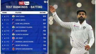 Virat Kohli Back to No.1 Ranking in Tests With 928 Points; Steve Smith Second With 9234 Points