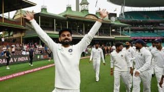 Sourav ganguly defeating australia in 2020 test series will be more challenging for virat kohli 3892756