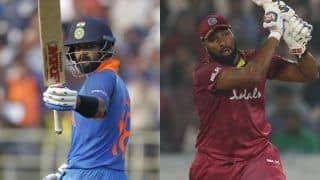 India vs West Indies 1st ODI - LIVE India vs West Indies Written Cricket Updates