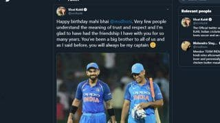 Virat Kohli's Touching Tribute To MS Dhoni is The Most Retweeted Sports-Related Tweet of 2019 | SEE POST