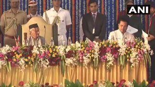 लिखित विवरण से हटकर शपथ लेने पर राज्यपाल ने महाराष्ट्र के दो मंत्रियों को लगाई फटकार