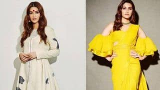 Kriti Sanon Keeps Fashion Police on Their Toes And THESE Hot Pictures From Panipat's Promotions Are Proof!