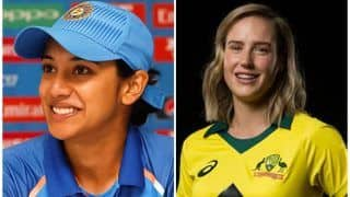 India's Smriti Mandhana in ICC Women's ODI and T20I Teams of The Year; Ellyse Perry Adjudged Women's Cricketer of The Year