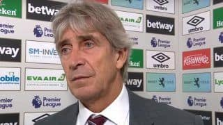 West Ham United Sack Manager Manuel Pellegrini After Latest Setback