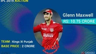 IPL 2020 Auction: Full List of Players Kings XI Punjab Bought