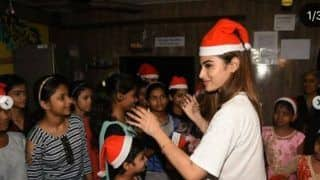 Merry Christmas 2019: Mouni Roy Turns Santa For HIV Affected Children