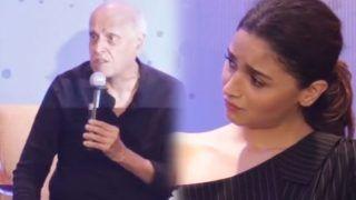 Video: बेटी शाहीन भट्ट के बुक लांच पर चीखने लगे महेश भट्ट, परेशान आलिया ने यूं कराया चुप