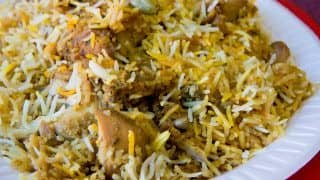 Biryani Becomes India's Most Ordered Dish For Third Year in a Row, Says Report
