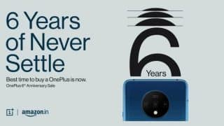 OnePlus 6th Anniversary Sale is Live on Amazon India: Offers on OnePlus 7T and OnePlus 7 Pro