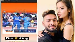 After Rishabh Pant Roars Back to Form in the 1st ODI, Girlfriend Isha Negi Shows Her Love For 'The King' Rishabh Pant