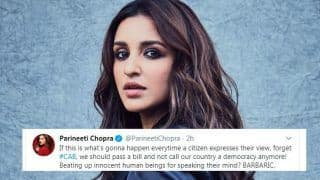 CAA Row: Parineeti Chopra Calls Attacks on Jamia Students 'BARBARIC', Questions Democracy