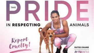 Sprinter Dutee Chand in New PETA India ad