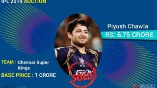 IPL 2020 Auction: Full List of Players Chennai Super Kings Bought