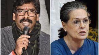 Jharkhand CM-Designate Hemant Soren to Meet Sonia Gandhi Today To Invite Her For Swearing-in Ceremony