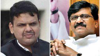संजय राउत ने फडणवीस पर की टिप्पणी, कहा- सत्ता हासिल करने की जल्दबाजी महाराष्ट्र में भाजपा को ले डूबी
