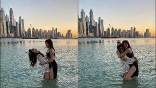 Ananya Panday's Hot Pictures of Dipping in Dubai Sea With Best Friend on Her Birthday Are Goals!