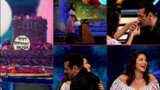 Bigg Boss 13: Sunny Leone-Salman Khan Double Down in Laughter For THIS Reason as They Celebrate His Birthday on Sets
