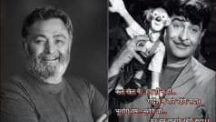 Rishi Kapoor Smears Twitter With Nostalgia on Raj Kapoor's Birthday, Pic From 'Mera Naam Joker' Goes Viral