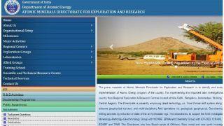 परमाणु खनिज अन्वेषण एवं अनुसंधान निदेशालय में विभिन्नों पदों पर निकली वैकेंसी, यहां से करें अप्लाई और जानें अंतिम तिथि