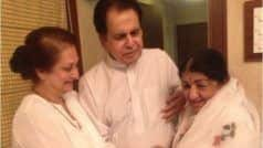 Dilip Kumar's 'Overjoyed' Tweet Speaks Volumes About His Bond With Lata Mangeshkar She Gets Discharged