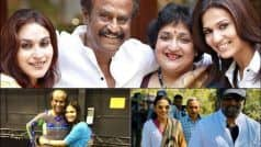 Happy Birthday Rajinikanth: Aishwaryaa-Soundarya's Mushy Posts For Thalaivar Dad Sets Fans Hearts Melting
