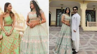 Kasautii Zindagii Kay, Nazar Actor Sonyaa Ayodhya Ties The Knot With Longtime Beau Harsh Samore at Grand Wedding in Jaipur
