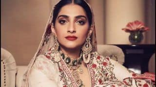 Sonam Kapoor Gives Sexy Twist to Traditional-Wear, Viral Pictures Look Straight Out of 'An Indian Love Song'
