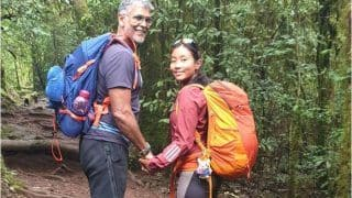 Milind Soman-Ankita Konwar's Throwback Picture Amps Couple Goals as They Trek Hand-in-Hand at Kilimanjaro
