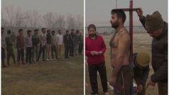 जम्मू-कश्मीर: रेलवे पुलिस भर्ती के लिए भारी संख्या में जुटे कश्मीरी युवा