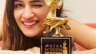 Luka Chuppi 2? Kriti Sanon Hints at Sequel in 2020 as She Flaunts 'Baat Nayi' Trophy From Star Screen Awards 2019