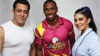 Jacqueline Fernandez Hosts Jamaican Sprinter Yohan Blake on Film's Sets, Latter Thanks Her And Salman Khan