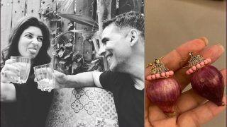 Twinkle Khanna's Reaction on Receiving 'Onion Earrings' From Akshay Kumar Leaves Fans in Splits, Mushy Post Goes Viral