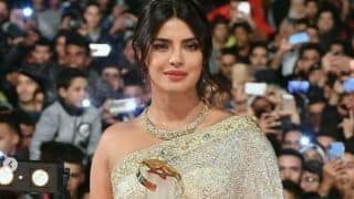 Priyanka Chopra Shines Like a Diamond in Shimmery Saree as She is Honored at Marrakech International Film Festival