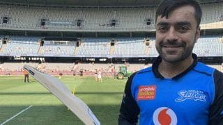"""After The Mongoose, New """"Camel"""" Bat Introduced by Rashid Khan"""