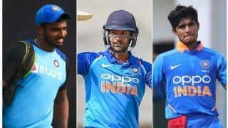 Gill, Agarwal, Samson in Contention for Opening Spot for West Indies ODIs