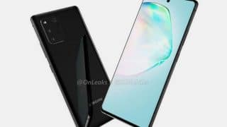 Samsung Galaxy A91 leak shows the upcoming device from all possible angles