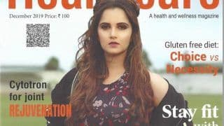 Sania Mirza Looks Smoking Hot in Healthcare India's Latest Magazine Cover