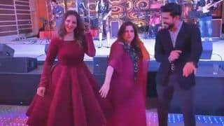 Farah Khan Dances With Her 'New Best Friend' Ram Charan at Wedding Reception of Sania Mirza's Sister Anam Mirza - Viral Video