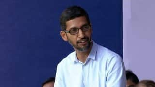 Sundar Pichai new Alphabet CEO as Google co-founders Larry Page and Sergey Brin step down