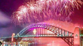 Happy New Year 2020: Glittering Fireworks Explode Over Australia's Sydney Harbour Bridge- Watch Videos