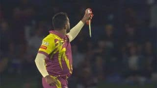VIDEO: South Africa Spinner Tabraiz Shamsi Wows Crowd With Magic Trick After Taking Wicket