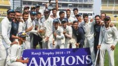 Ranji Trophy 2019-20 Full Schedule Round 1, Squads, Matches, Team List