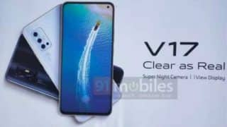 Vivo V17 leaked poster confirms punch-hole display ahead of December 9 India launch