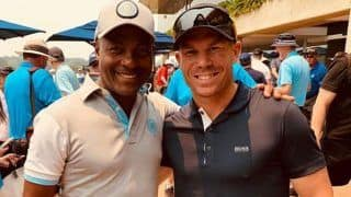David Warner Posts Photo With Brian Lara; Jokes He Will Get Another Chance to Knock 400 Off