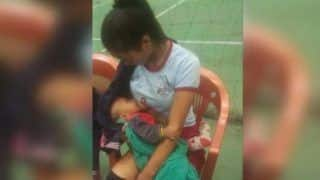 Volleyball Player Breastfeeds Seven-Month-Old Baby Between Match, Wins Hearts