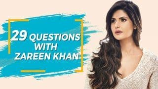 Watch Zareen Khan Answer 29 Questions About Second Chances And More