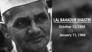 Netizens Pay Tribute, Remember Former PM Lal Bahadur Shastri on His 54th Death Anniversary