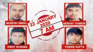 Nirbhaya Case: Delhi Court Issues Death Warrant Against 4 Convicts, to be Hanged at 7 AM on Jan 22